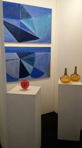 Our stand at the art fair